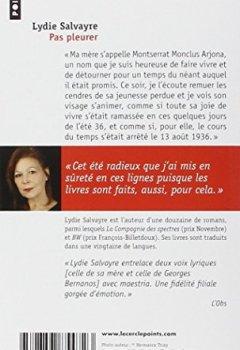 Livres Couvertures de Pas pleurer - Prix Goncourt 2014