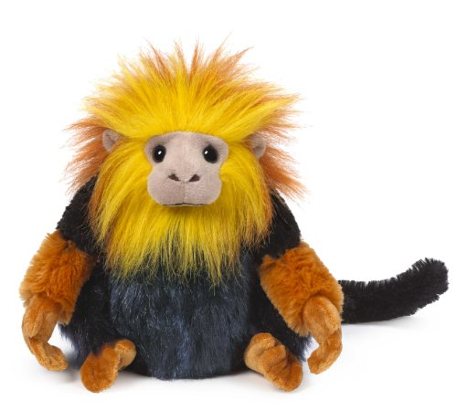 Webkinz Golden Lion Tamarin Plush
