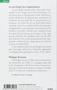 Livres Couvertures de La sociologie des organisations : Initiation théorique suivie de douze cas pratiques
