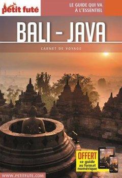Livres Couvertures de Guide Bali - Java 2018 Carnet Petit Futé