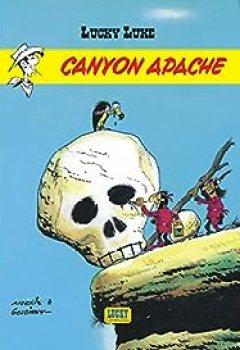 Livres Couvertures de Lucky Luke, tome 6 : Canyon Apache