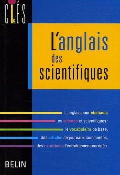 Livres Couvertures de L'anglais des scientifiques