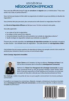 Livres Couvertures de Les Cles de la Negociation Efficace: Les points essentiels avec des exemples concrets pour reussir une negociation commerciale !