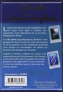 Livres Couvertures de L'Oracle des Sirènes & Dauphins - Cartes oracles