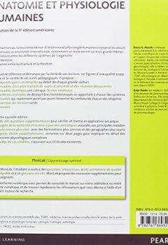 Livres Couvertures de Anatomie et physiologie humaines : Adaptation de la 9e édition américaine, Le manuel + la plateforme numérique MonLab
