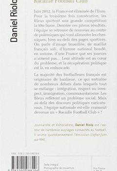 Livres Couvertures de Racaille Football Club