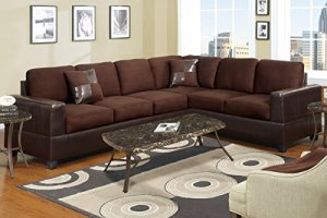 2-Piece-Classic-Large-Microfiber-and-Faux-Leather-Sectional-Sofa-with-Matching-Accent-Pillows