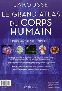 Livres Couvertures de Grand atlas du corps humain : Description, fonctions, pathologies