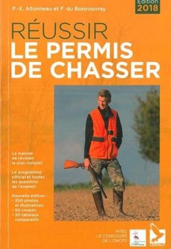 Livres Couvertures de Réussir le permis de chasser