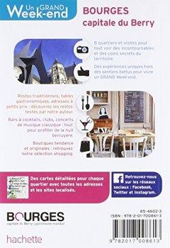 Livres Couvertures de Un Grand Week-End à Bourges. Le guide