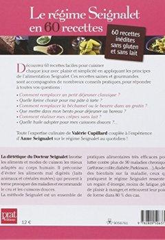 Livres Couvertures de Le régime Seignalet en 60 recettes : Tous les conseils pratiques pour un quotidien sans gluten et sans lait !