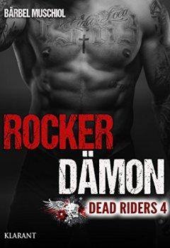 Buchdeckel von Rocker Dämon. Dead Riders 4