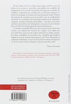 Livres Couvertures de Oeuvres de H.P. Lovecraft - T2 - NE