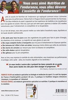 Livres Couvertures de L'assiette de l'endurance- 101 recettes spécial performance