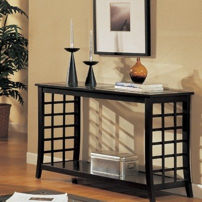 Image of Console Table in Cappuccino (OCST468)