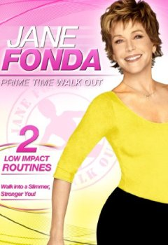 Livres Couvertures de Jane Fonda: Prime Time Walk Ou [Import anglais]