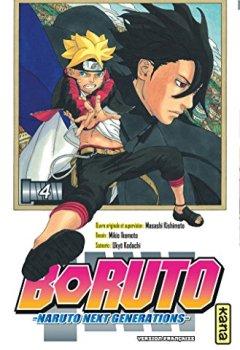 Livres Couvertures de Boruto - Naruto next generations -, tome 4