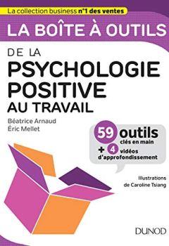 Livres Couvertures de La boîte à outils de la psychologie positive au travail