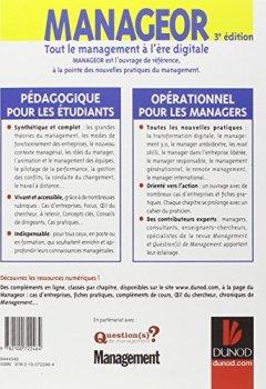 Livres Couvertures de Manageor - 3e édition - Tout le management à l'ère digitale