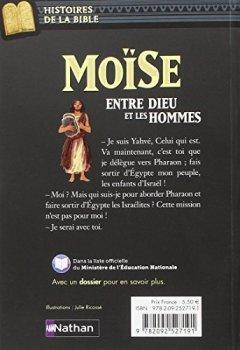 Livres Couvertures de Moïse