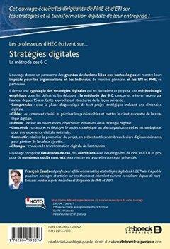 Livres Couvertures de Stratégies digitales : La méthode des 6 C