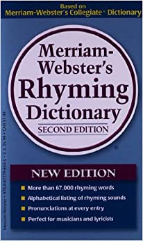 Amazon.com: Merriam-Webster's Rhyming Dictionary (9780877798545): Merriam-Webster: Books