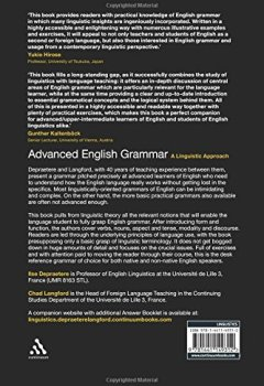 Livres Couvertures de Advanced English Grammar: A Linguistic Approach.