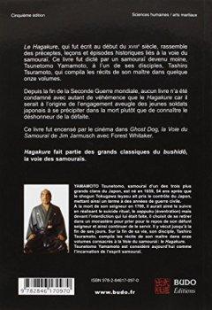 Livres Couvertures de Hagakure : Ecrits sur la voie du samouraï