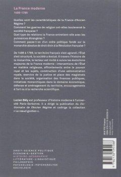 Livres Couvertures de La France moderne 1498-1789