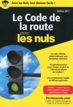Livres Couvertures de Le code de la route poche 2017-2018 pour les Nuls