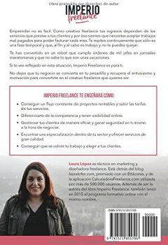 Portada del libro deImperio Freelance: Guía práctica para diseñadores y creativos freelance que quieren elegir a sus clientes (Diseño gráfico, Marketing y Emprendedores)