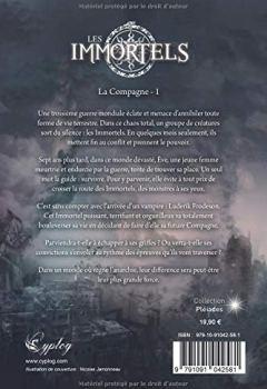 Livres Couvertures de LES IMMORTELS : La Compagne - 1