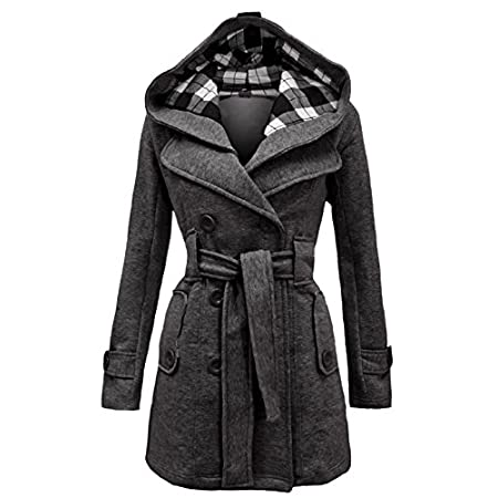 ➨ Detachable Check Hood ➨ 2 Front Pockets Detail ➨ Belted Waist ➨ Collar Neck ➨ Fully Lined ➨ Approx Length From Shoulder - 80cm ➨ Approx Sleeve Length - 64cm ➨ Should you require any further details, please do not hesitate to contact us anytime. ➨➨➨...