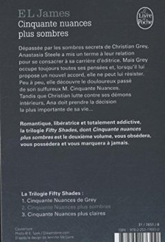 Livres Couvertures de Cinquante nuances plus sombres (Fifty Shades, Tome 2)