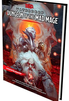Livres Couvertures de D&D Waterdeep Dungeon of the Mad Mage