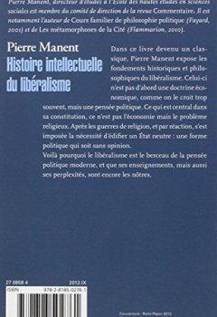 Livres Couvertures de Histoire intellectuelle du libéralisme