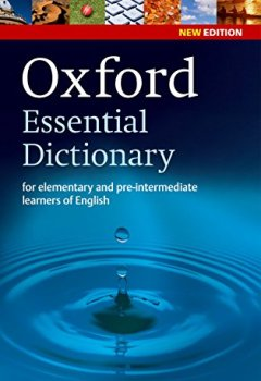 Livres Couvertures de Oxford essential dictionary new edition : For elementary and pre-intermediate learners of English