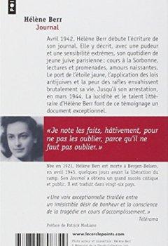 Livres Couvertures de Journal 1942-1944 : Suivi de Hélène Berr, une vie confisquée par Mariette Job