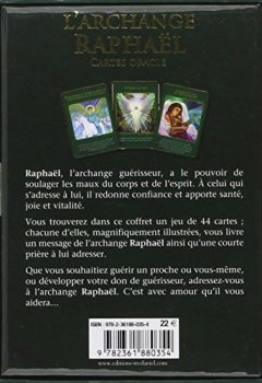 Livres Couvertures de L'archange Raphaël : Cartes oracles