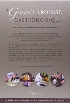 Livres Couvertures de Le grand Larousse gastronomique - nouvelle édition
