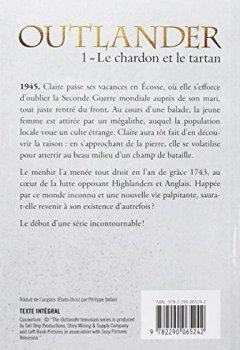 Livres Couvertures de OUTLANDER - 1 - LE CHARDON ET LE TARTAN