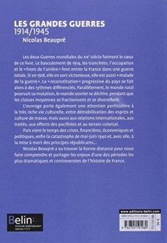 Livres Couvertures de Les Grandes guerres 1914-1945 - Format compact