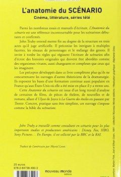 Livres Couvertures de Anatomie du scénario : Cinéma, littérature, séries télé