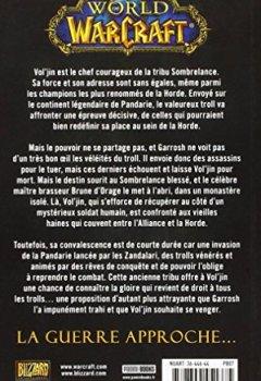 Livres Couvertures de WORLD WARCRAFT VOL'JIN LES OMBRES DE LA HORDE