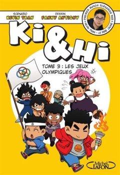 Livres Couvertures de Ki et Hi - tome 3 Les jeux olympiques (03)