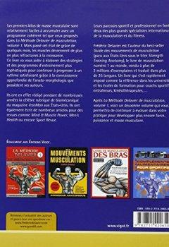 Livres Couvertures de La méthode Delavier de musculation, volume 2