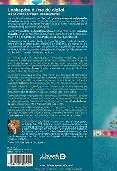 Livres Couvertures de L'entreprise à l'ère du digital , Les nouvelles pratiques collaboratives