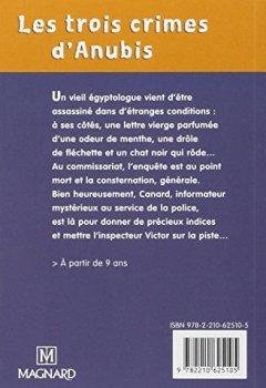 Livres Couvertures de Les trois crimes d'Anubis : CM1