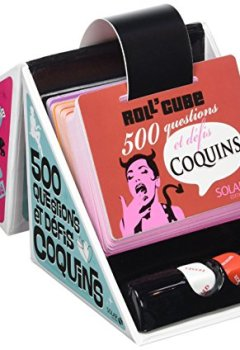 Livres Couvertures de Roll'cube 500 questions et défis coquins