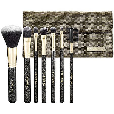 What it is: A seven-piece brush set treated with a cutting-edge antimicrobial technology, that keeps brushes fresher for longer and is suitable for even the most sensitive skin.  What it does:  Each of these professional-quality brushes is treated wi...